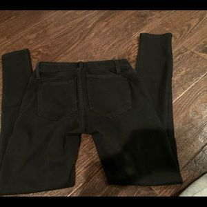 GAP maternity 26 L Long women's black jeans
